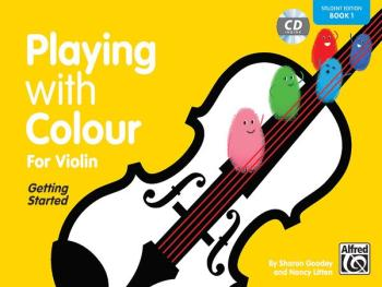 Playing with Colour for Violin, Book 1 (AL-00-20151UK)