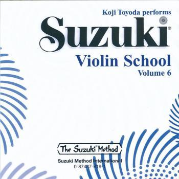 Suzuki Violin School CD, Volume 6 (AL-00-0919)
