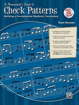 A Percussionist's Guide to Check Patterns: Building a Fundamental Rhyt (AL-00-32040)