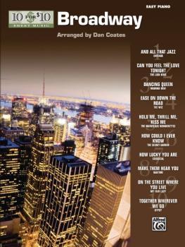 10 for 10 Sheet Music: Broadway (AL-00-32193)