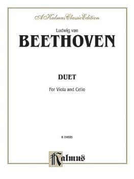 Duet for Viola and Cello (AL-00-K04695)