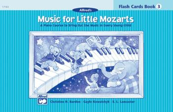 Music for Little Mozarts: Flash Cards, Level 3: A Piano Course to Brin (AL-00-17183)