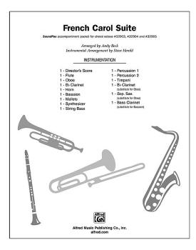 A French Carol Suite: He Is Born / Bring a Torch, Jeanette, Isabella / (AL-00-32907)