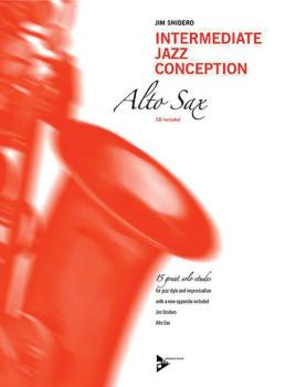 Intermediate Jazz Conception: Alto & Baritone Sax (15 Great Solo Etude (AL-01-ADV14780)