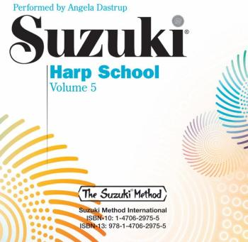 Suzuki Harp School CD, Volume 5: International Edition (AL-00-44773)