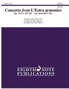 Concerto from L'Estro armonico (Op. 3 No. 9 RV 230) (AL-81-CB17311)