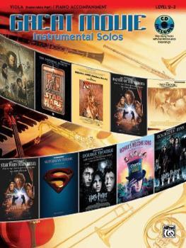 Great Movie Instrumental Solos for Strings (AL-00-26249)