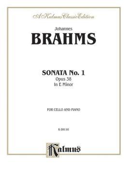Sonata No. 1 in E Minor, Opus 38 (AL-00-K09110)