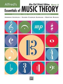 Alfred's Essentials of Music Theory: Book 3 Alto Clef (Viola) Edition (AL-00-18582)