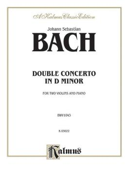 Double Concerto in D Minor (AL-00-K03022)