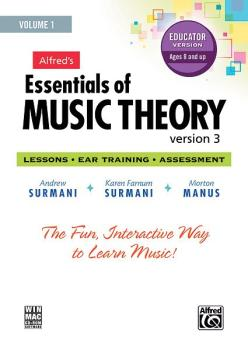 Alfred's Essentials of Music Theory: Software, Version 3 CD-ROM Educat (AL-00-34628)
