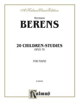20 Children's Studies, Opus 79 (AL-00-K03210)