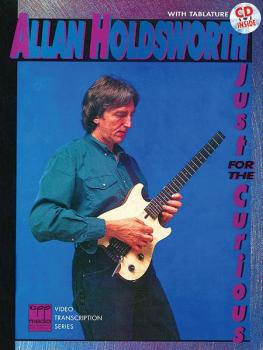 Allan Holdsworth: Just for the Curious (AL-00-REHBK005CD)