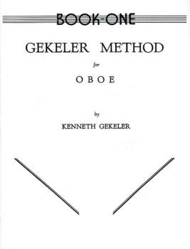 Gekeler Method for Oboe, Book I (AL-00-EL00081)