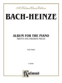 Album for the Piano: A Collection of 21 Favorite Pieces for the Pianof (AL-00-K03085)