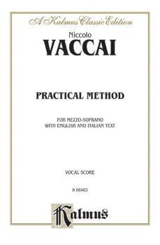 Practical Vocal Method for Mezzo-Soprano: Vocal Score and Piano Accomp (AL-00-K06463)