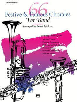66 Festive & Famous Chorales for Band (AL-00-5289)