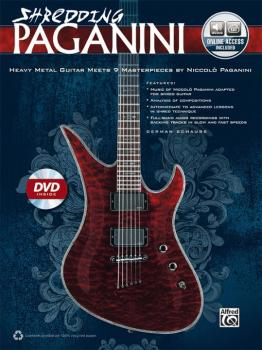 Shredding Paganini: Heavy Metal Guitar Meets 9 Masterpieces by Niccolo (AL-00-40932)