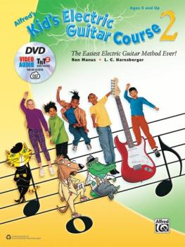 Alfred's Kid's Electric Guitar Course 2: The Easiest Electric Guitar M (AL-00-44489)