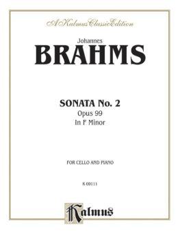 Sonata No. 2, Opus 99 in F Major (AL-00-K09111)
