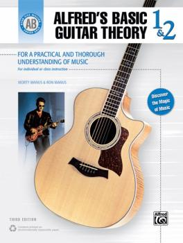 Alfred's Basic Guitar Theory 1 & 2: The Most Popular Method for Learni (AL-00-28387)
