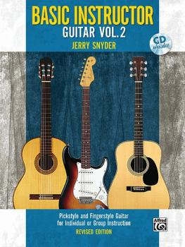 Basic Instructor Guitar 2 (2nd Edition): Pickstyle and Fingerstyle Gui (AL-00-32076)