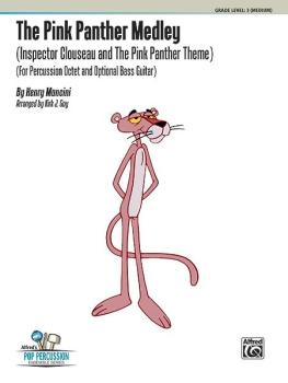 The Pink Panther Medley (Inspector Clouseau and The Pink Panther Theme (AL-00-39029)