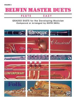 Belwin Master Duets (Flute), Easy Volume 2 (AL-00-EL03639)