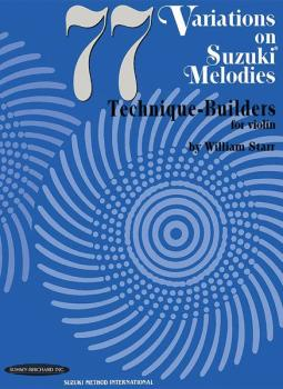 77 Variations on Suzuki Melodies: Technique Builders (AL-00-0617)