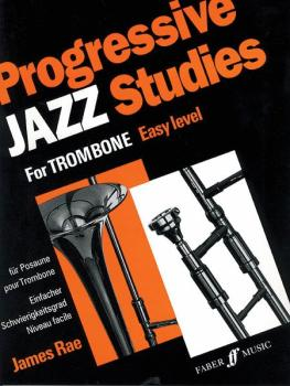 Progressive Jazz Studies for Trombone, Book 1 (AL-12-0571515444)