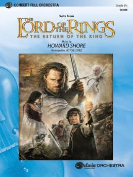 <I>The Lord of the Rings: The Return of the King</I>, Suite from (AL-00-FOM04002C)