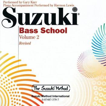 Suzuki Bass School CD, Volume 2 (Revised) (AL-00-0379)