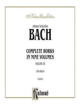 Complete Organ Works, Volume VII (AL-00-K03076)