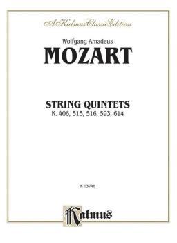 String Quintets, K. 406, 515, 516, 593, 614 (AL-00-K03748)