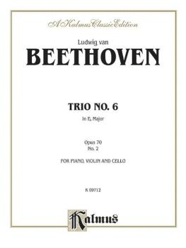 Piano Trio No. 6 - Opus 70, No. 2 in E-flat Major (AL-00-K09712)
