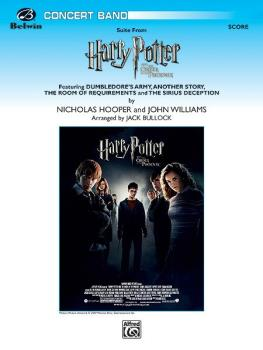 <i>Harry Potter and the Order of the Phoenix</i>, Suite from (Featurin (AL-00-29616S)