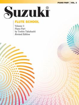 Suzuki Flute School Piano Acc., Volume 3 (Revised) (AL-00-0170S)