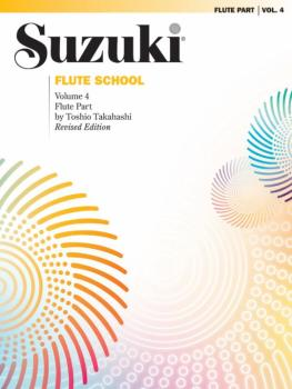 Suzuki Flute School Flute Part, Volume 4 (Revised) (AL-00-0171S)