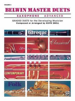 Belwin Master Duets (Saxophone), Advanced Volume 2 (AL-00-EL03647)