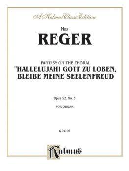 """Fantasy on the Chorale """"Hallelujah! Gott Zu Loben, Bleibe Meine Seelen (AL-00-K04106)"""