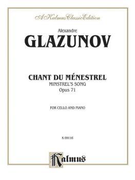 Chant du Menstrel, Opus 71 (AL-00-K09116)