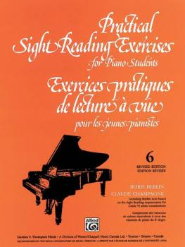 Practical Sight Reading Exercises for Piano Students, Book 6 (AL-00-V1036)