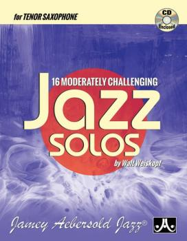 16 Moderately Challenging Jazz Solos (AL-24-MCJS-TS)