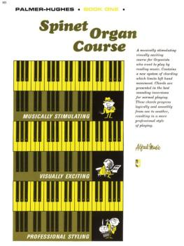 Palmer-Hughes Spinet Organ Course, Book 1 (AL-00-101)
