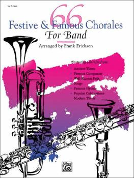 66 Festive & Famous Chorales for Band (AL-00-5282)