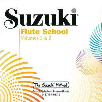 Suzuki Flute School CD, Volume 1 & 2 (Revised) (AL-00-0913)