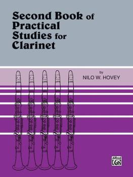 Practical Studies for Clarinet, Book II (AL-00-EL00141)