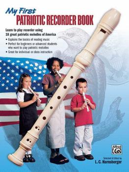 My First Patriotic Recorder Book (AL-00-20443)
