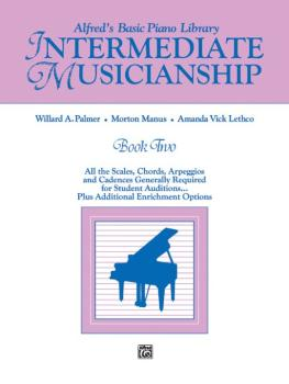 Alfred's Basic Piano Library Musicianship Book Two: Intermediate Music (AL-00-3078)