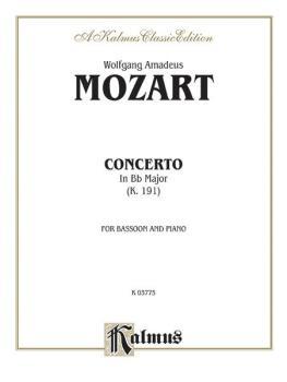 Concerto, K. 191 in B-flat Major (AL-00-K03775)